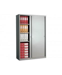 Шкаф для офиса АМТ-1812 купе, размер: 1215*458*1830 мм.