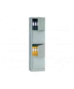 Шкаф для офиса АМ-1845/4, размер: 472*458*1830 мм.