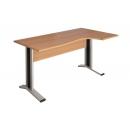Стол угловой КМ62Пр/КМ63Л Размер: 1400*900/700*750 мм