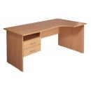 Стол угловой КМ75Пр/КМ76Л Размер: 1400*900/700*750 мм
