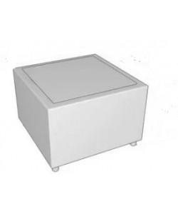 Стол угловой со стеклом Размер: 815*815*540 мм