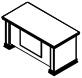 Стол рабочий PRT201 Размер: 1600*800*780 мм