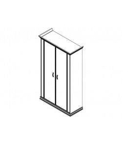 Шкаф с деревянными дверями PRT404 Размер: 1240*515*2148 мм