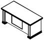 Стол рабочий PRT200 Размер: 1800*800*780 мм