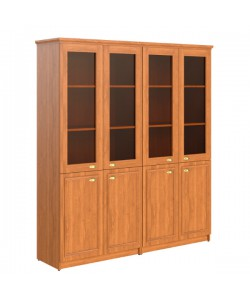 Шкаф со стеклом RНC180.2 Размер: 1808*466*2023 мм