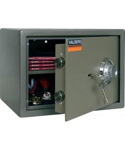 Сейф мебельный ASM-25CL, размер: 340*280*250 мм.