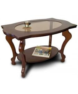 Стол журнальные Берже-1 со стеклом. Размер: 94*60 h56 см.