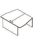 Стол двойной X2CT 149.3 Размер: 1400*1806*750 мм