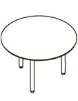 Конференц-стол XRT 120 Размер: D1200*750 мм