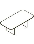 Конференц-стол XOCT 220 Размер: 2200*1100*750 мм