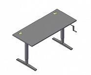 Стол рабочий XTUP127 Размер: 1200*700*705-1155 мм